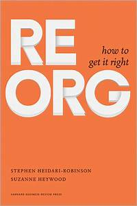 Reorg  How To Get It Right
