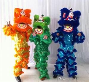 Lion Dance Costume For Kids