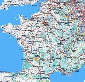 Les Autoroutes En France : carte de france images et photos arts et voyages ~ Medecine-chirurgie-esthetiques.com Avis de Voitures