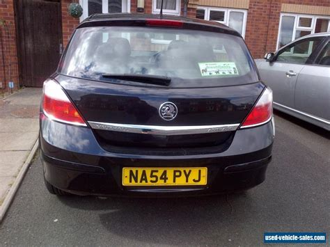 opel astra 2004 black 2004 vauxhall astra club twinport for sale in the united