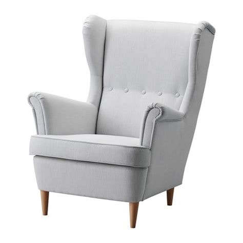 wing chair item number strandmon wing chair nordvalla light gray ikea