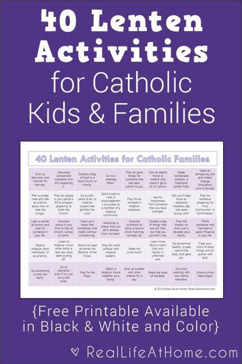 40 lenten activities for catholic families free printable 684 | 5b9d009581b66c50e2c303a7ea5177e7