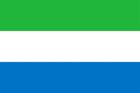 Flag Of Sierra Leone Image And Meaning Sierra Leonean Flag