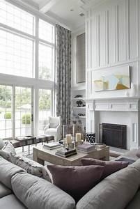 Große Fenster Dekorieren : 60 elegante designs von gardinen f r gro e fenster ~ Frokenaadalensverden.com Haus und Dekorationen