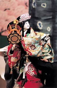 【Bunraku puppet theater in Osaka City】