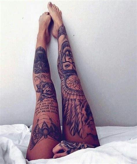 25+ Best Ideas About Leg Sleeve Tattoos On Pinterest