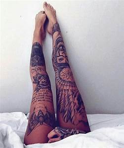Collection of 25+ Impressive Leg Tattoo For Female