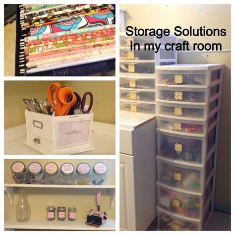 craft room storage solutions storage solutions in my craft room studio organizing pinterest