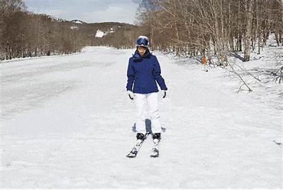 Snow Skis Feet Ski Both Sliding Length