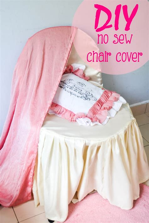 no sew banquet chair covers tutorial with free pattern