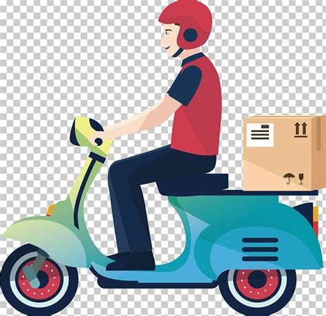 Delivery Motorcycle Courier Logistics Service PNG, Clipart ...