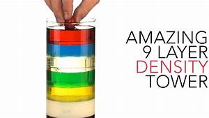 Amazing 9 Layer Density Tower - Sick Science   012