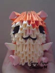 Paper 3D Origami Pieces