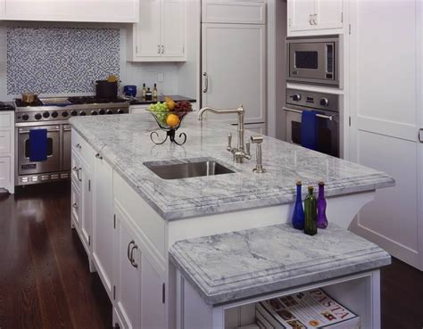 white quartzite countertops 8 popular countertop materials the pros and the cons