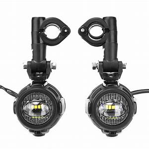 Motorcycle Led Auxiliary Fog Light Aluminum Alloy Safety