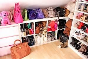 Taschen Platzsparend Aufbewahren : welcome to my closet my handbag collection fashion kitchen ~ Watch28wear.com Haus und Dekorationen