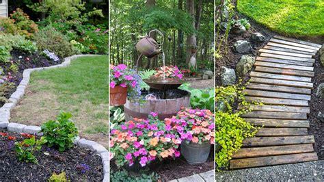 cheap garden ideas cheap landscaping ideas pictures home design