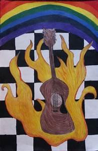 Kozmic Dreams High School Art Lesson Plans