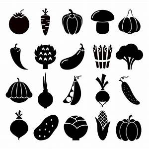 Vegetables icons ~ Graphics on Creative Market