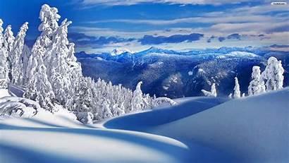 Winter Landscape Desktop Background Snow Backgrounds Landscapes