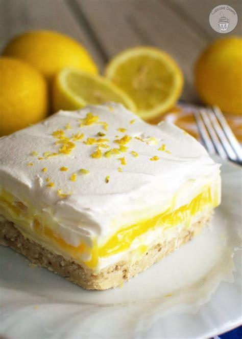 light dessert recipes lemon lush dessert