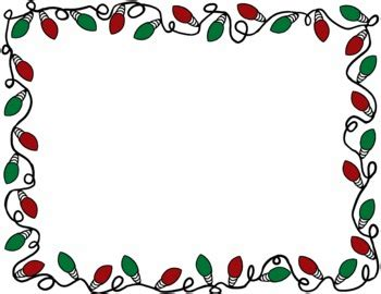 christmas lights border clip art cliparts co