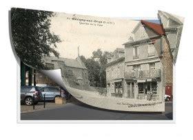 le quartier de la poste d hier 224 aujourd hui 224 savigny sur orge cartes postales anciennes