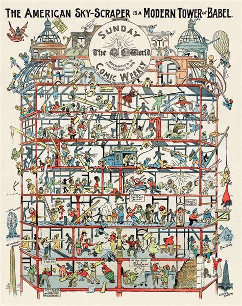 tour de babel moderne du9 l autre bande dessin 233 e