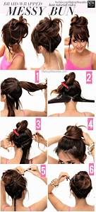 21 Quick Lazy Girl Hairstyles Tutorial London Beep