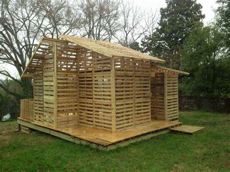 costruire un capannone un capannone di pallet 20 foto come costruire una