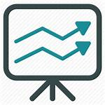 Trend Report Icon Trends Market Chart Icons