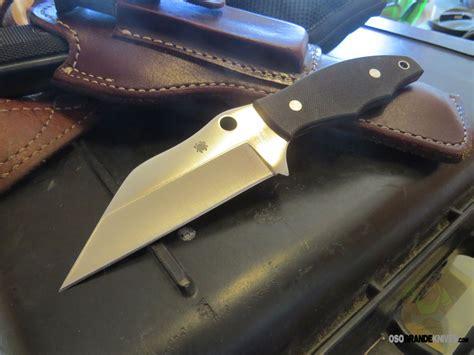 spyderco ronin  fixed blade knife     bd