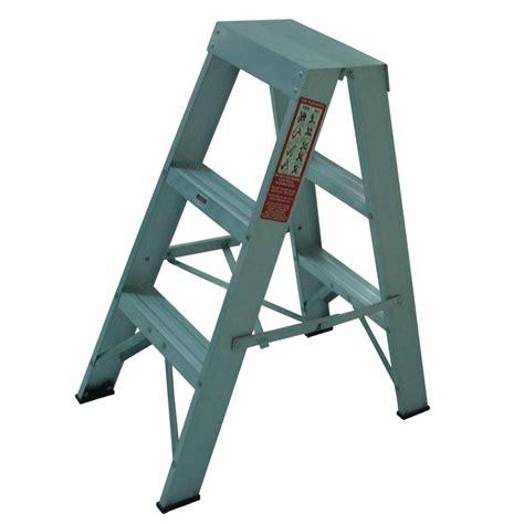 aluminium ladder bunnings rhino 0 9m 120kg sided aluminium ladder