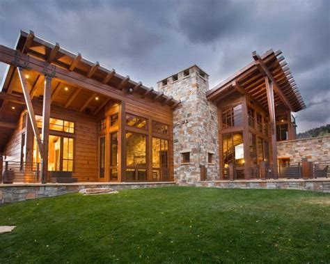 Rustic Home Exterior Design by Beautiful Houses Tags Rustic Exterior Home Design