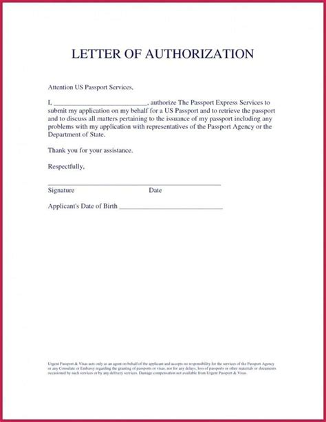 sample  authorization letter  gst   word