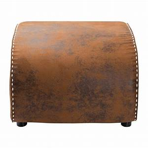 Repose Pied Design : repose pieds vintage marron ritmo eco kare design ~ Teatrodelosmanantiales.com Idées de Décoration