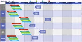 Roadmap Excel Template Roadmap Template Designproposalexle Com