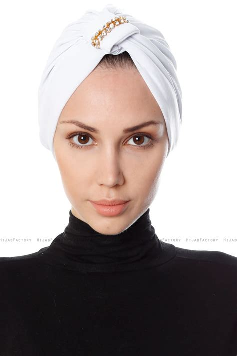 bahar wit turban tulband hijabfactorynl