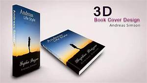 How to creat 3D Book cover Design in photoshop - YouTube
