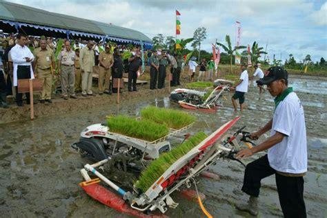 menteri pertanian lirik potensi kabupaten sorong