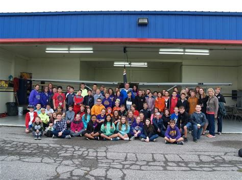 sixth graders soar high geauga county airport berkshire local