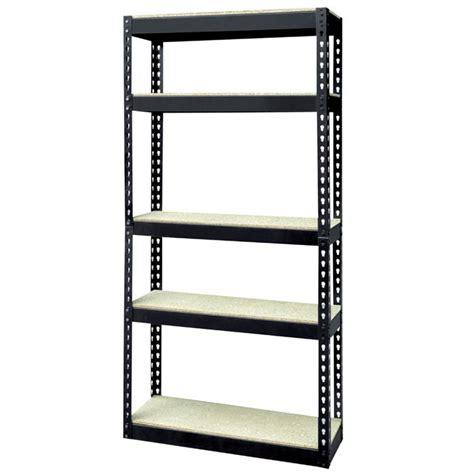 meuble de rangement pour la cuisine etagère 5 niveaux bois métal 180x80x40cm achat vente