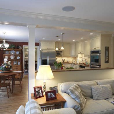 Kitchen Living Room Half Wall by Best 25 Half Wall Kitchen Ideas On Kitchen