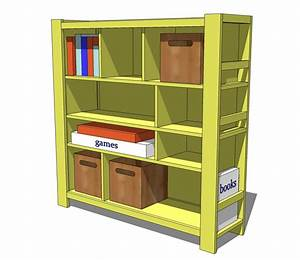 DIY Bookshelf Plans : Doherty House - DIY Bookshelf Design