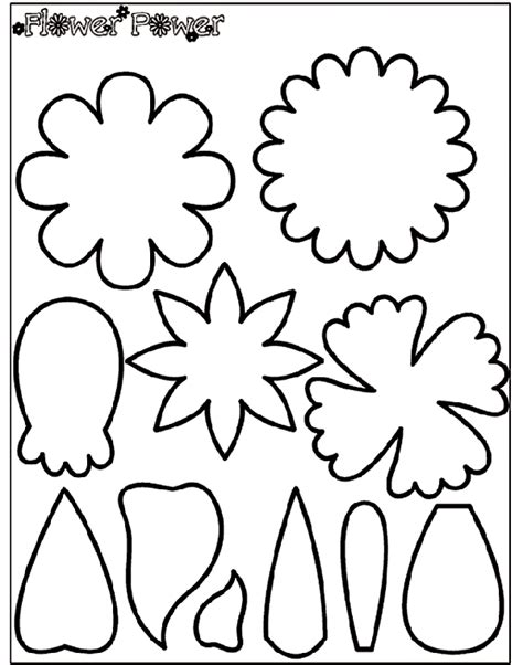 flower power  coloring page crayolacom