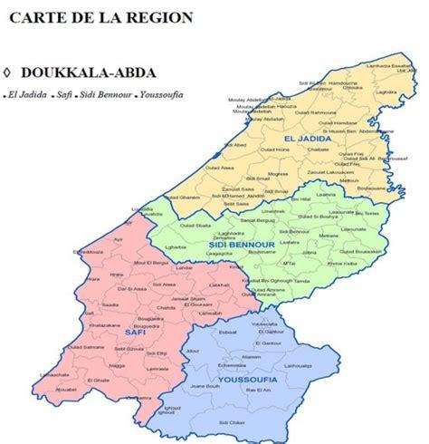 chambre d agriculture 10 carte administrative de la région doukala abda