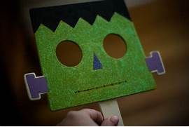 Halloween Crafts Paper Bags  Site About Children