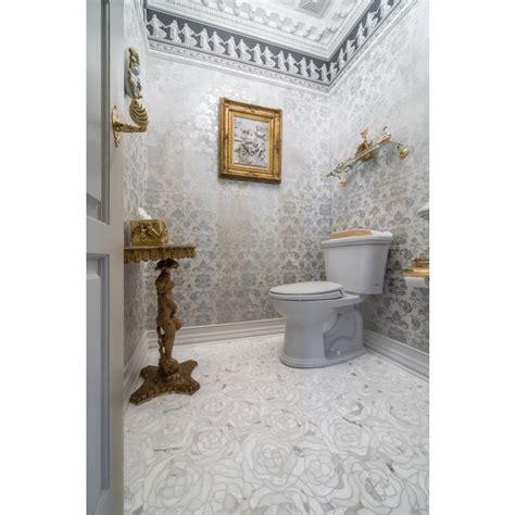 CHRYSANTHEMUM CALACATTA GOLD   Artistic Tile