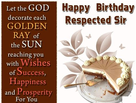 Latest Happy Birthday Wishes For Sir To Share On Facebook