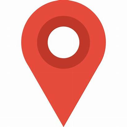 Icon Map Google Marker Flat Location Icons